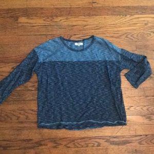 Madewell 3/4 length sleeve shirt